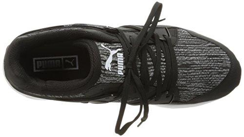 Puma Mens Blaze Tigre Maille Mode Sneaker Asphalte / Puma Noir