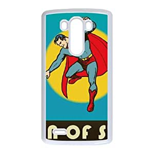 Man of Steel Vintage LG G3 Cell Phone Case White toy pxf005_5755017