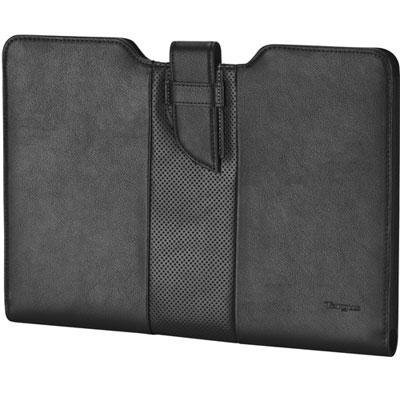Targus Ultralife Black Executive. Leather Sleeve For 13.3In Laptop