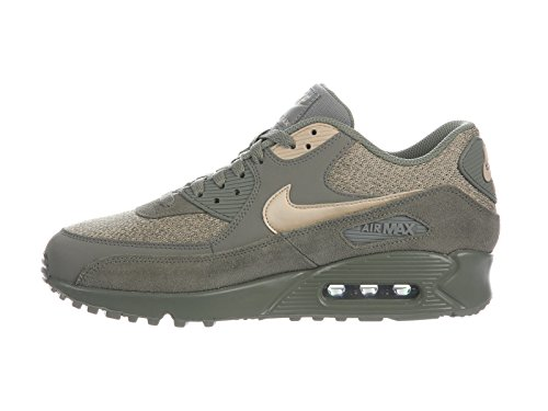 Stucco ginnastica Scarpe Uomo Max 90 Dark da Leather Mushroom Air NIKE Oatmeal npRqzz