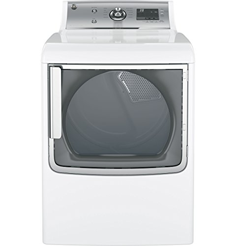 Find a GE GTD81GSSJWS 28″ Gas Dryer with 7.8 cu. ft. Capacity, 5 Heat Selections in White