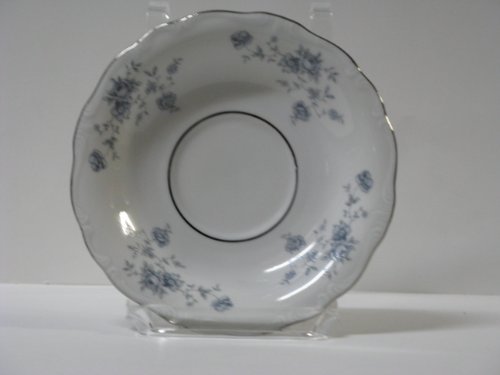 Johann Haviland Blue Garland Saucer w/ Inner Ring - Blue Garland Saucer