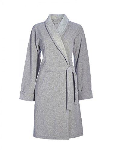 ESPRIT–Accappatoio Eve, S–XL, Grey, grau, X-Large