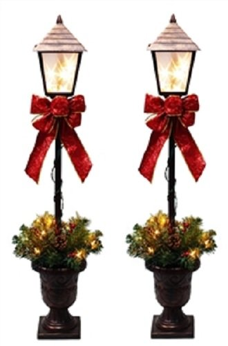 Santas Forest 27209 Lamp Post, Clear