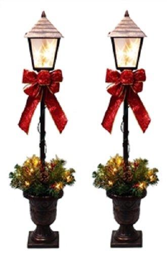 Santas Forest 27209 Lamp Post, -