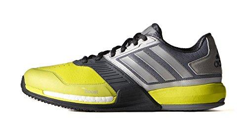 adidas crazy train boost (10, volt/grey)