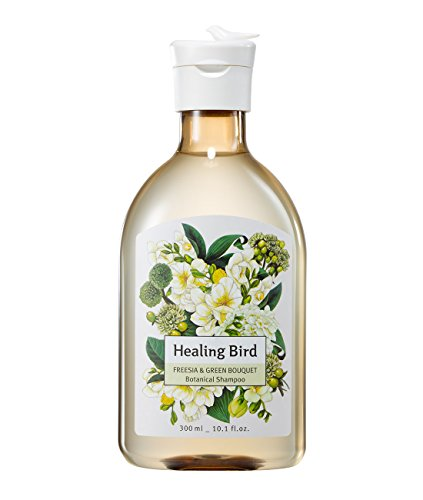CLIO Healing Bird Botanical Shampoo Freesia And Green Bouquet 10.1 Ounce (Freesia Bouquet)