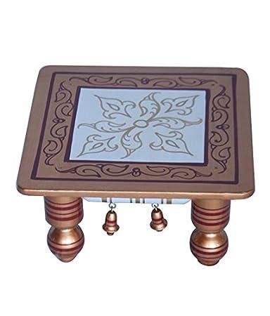Buy Chowki Bajot Wooden Chowki Pooja Item Gift Item Home Decor 12