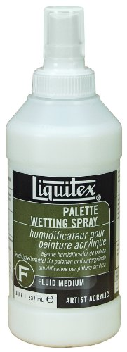 Liquitex Professional Palette Wetting Spray Fluid Medium, 8-