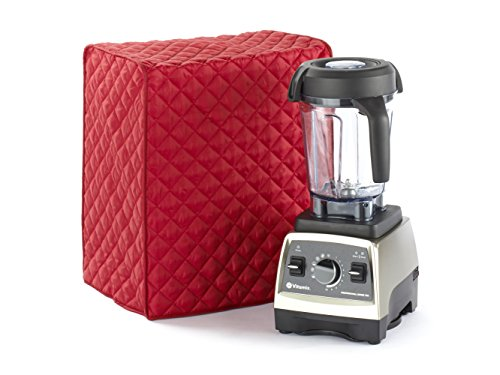 Covermates - Blender Cover - 10W x 9D x 20.5H - Diamond Collection - 2 YR Warranty - Year Around Protection - Red ()