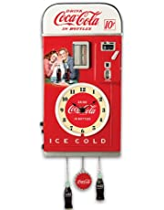 Wall Decor: COCA-COLA Time for Refreshment Vending Machine Wall Clock by The Bradford Exchange