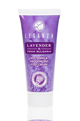 Lavender Foot Cream Enriched with Bulgarian Organic Lavender Essential Oil 75 ml 2.5 oz