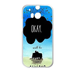 Happy okay? okay. Phone Case for HTC One M8