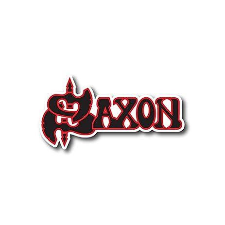 amazon com saxon sticker english heavy metal band decal for car rh amazon com Heavy Metal Band Posters Heavy Metal Band Stickers Arcturus