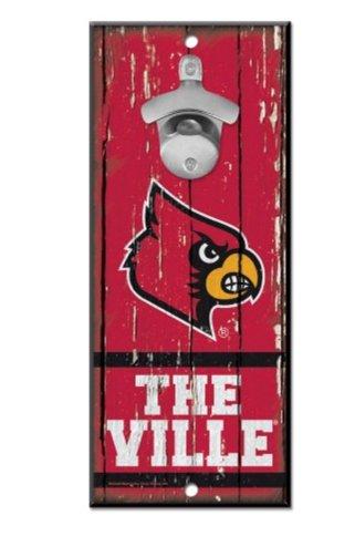 WinCraft NCAA University Louisville Cardinals Wood Bottle Op