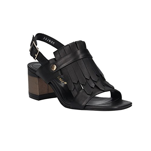 Bruno Premi Sandals R1402P Vitello Tacco Black A2Cmvm