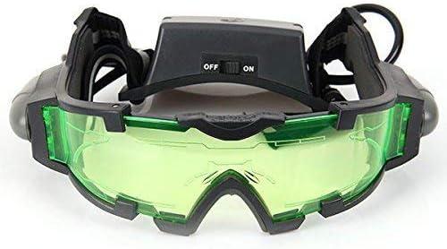 Gearmax® Gafas de Visión Nocturna con Azul Flip-fuera Llevaron Luces