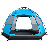 ZENITHIKE Dome Tent for 4-6 Persons COLLAPOSBLE Double...