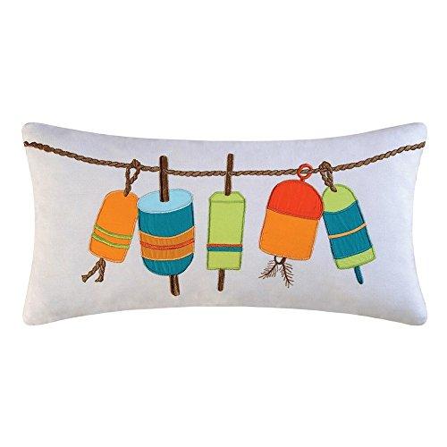 Zuma Bay Boudoir Hanging Buoys Pillow by C F