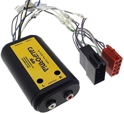 Verstärker Adapter 2 Kanal Remote Iso Endstufe Cinch Elektronik