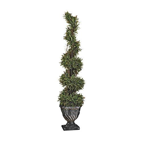 - Design Toscano Spiral Topiary Large Tree Urn