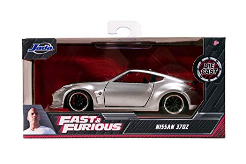 Jada Toys Fast & Furious 2009 Nissan 370Z 1:32 Scale Die-cast Vehicle, Silver 5