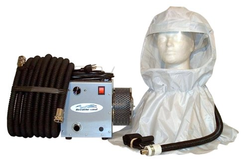Breathecool II Supplied Fresh Air Respirator System w/vin...