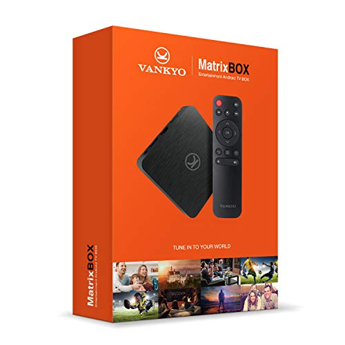 VANKYO MatrixBox X95A 4K Android TV Box, Ultra HD 2GB RAM 16GB ROM TV Streaming Player w/Amlogic S905W 64 Bits Quad Core Processor