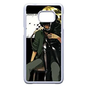 Generic hard plastic Cowboy Bebop Anime Cell Phone Case for Samsung Galaxy S6 Edge Plus White B0285