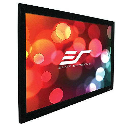 e Plus Series, 345-inch Diagonal 16:9, Fixed Frame Home Theater Projection Screen, Model: R345WH1 PLUS (Series Fixed Fixed Frame)