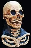 Long Neck Skull Mask Adult Full Over the Head Latex Mask Halloween