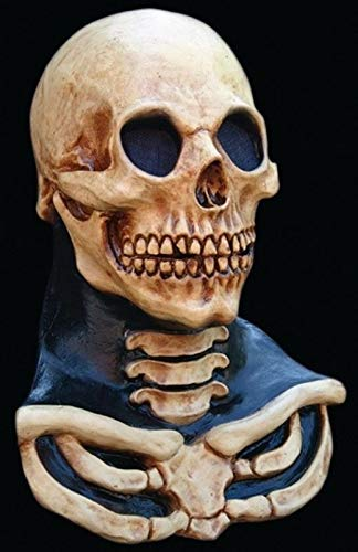 Long Neck Skull Mask Adult Full Over the Head Latex Mask Halloween by Unknown (Image #1)