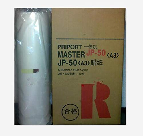 Yoton 2017 hot Master Roll JP-50MC JP50 A3 used for ricoh 5450 JP5000 gestetner T13 duplicator master paper copier paper 2roll/lot