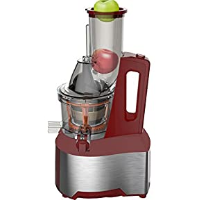 Panasonic Mj L500sxc Slow Juicer With Frozen Sorbet Attachment 150 W Silver : Optimum 600 Whole Fruit Slow Juicer, Red: Amazon.co.uk: Kitchen & Home