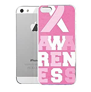 Light weight with strong PC plastic case for iPhone iphone 5s Art Illustration Art Breast Cancer Awareness 2013