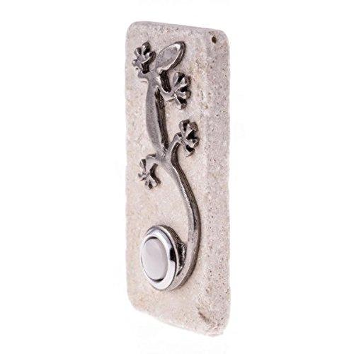 Gecko Doorbell - Dark Brown Finish Door Bell Pushbuttons