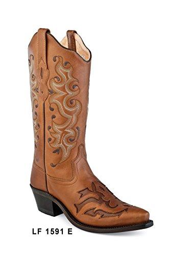 Old Cowboy West Tamaño Botas Lf1591e Modelo 37 vaqueras Mujer BB7nrvRwq
