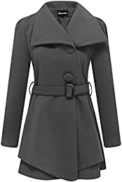 Amazon.com: Grey - Wool & Blends / Wool & Pea Coats: Clothing