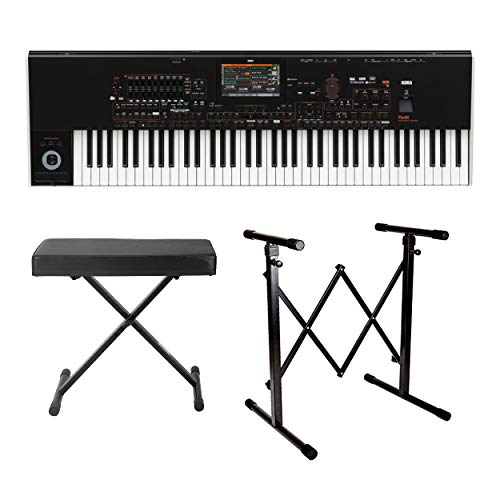 Korg PA4X 61-Key Professional Arranger Keyboard with Knox