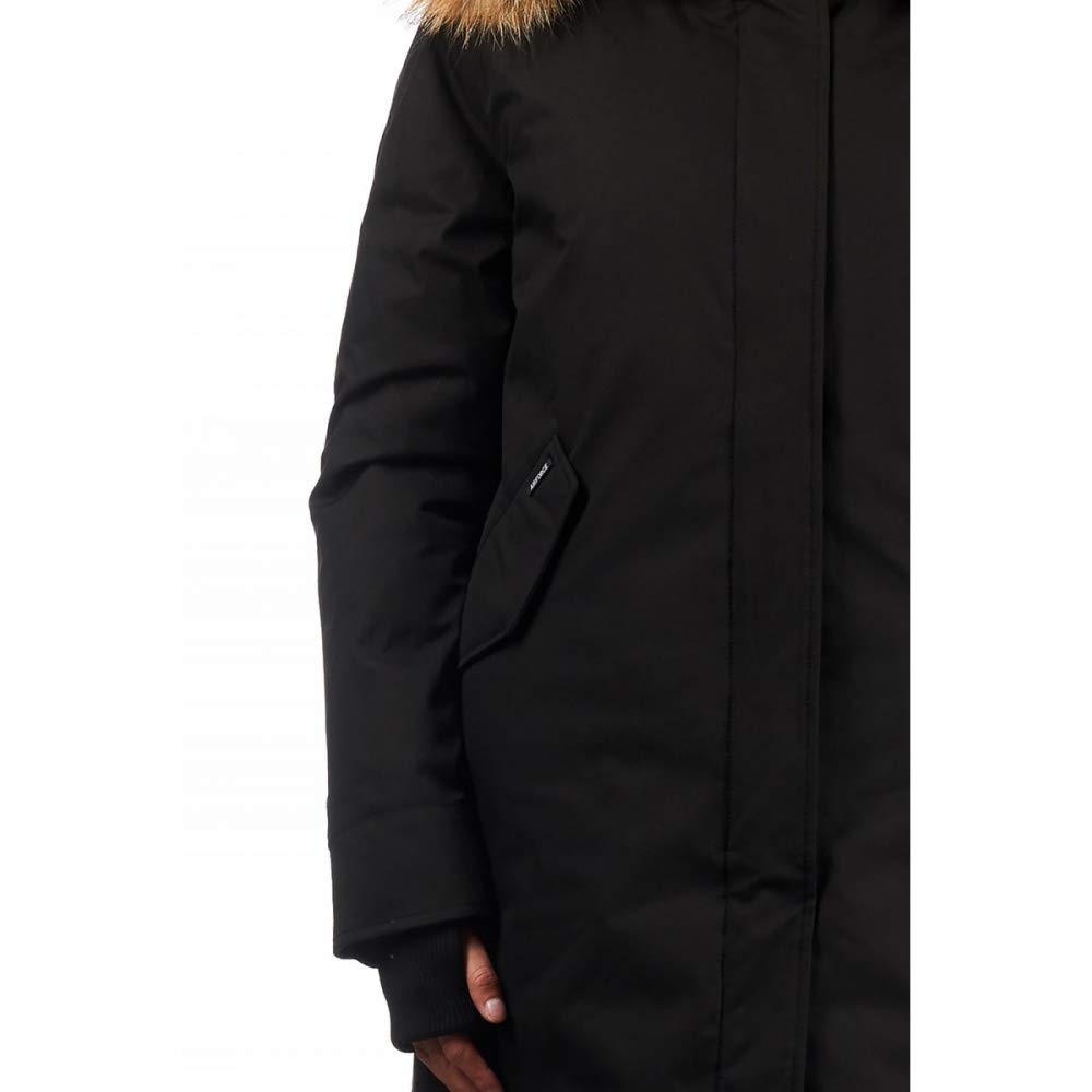 Airforce Fishtail Poly Damen Parka mit Echtfell Farbe 901