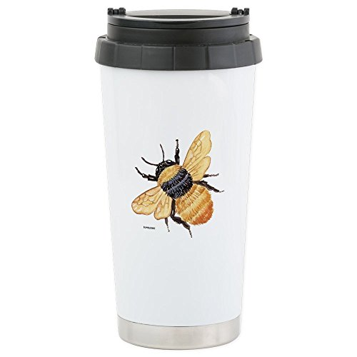 CafePress Bumblebee Insect Stainless Steel Travel Mug - S...