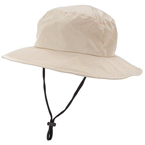 Heat Edge Boonie Men's and Women's Sun Hat With Ventilation and Foldable Neck Flap (L/X, Khaki Sun Hat) - Edge Sun Hat