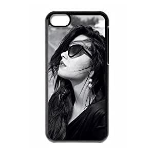 Demi Lovato Custom Durable Hard Plastic Case Cover LUQ917469 For Iphone 5C