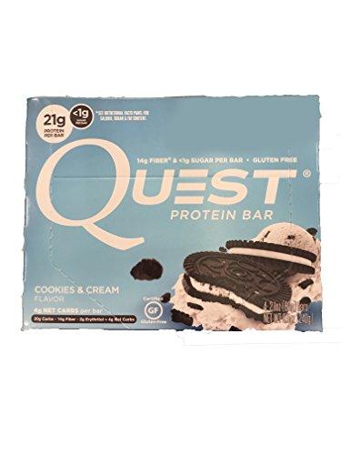 Quest Protein Bar - Cookies & Cream - 4ct