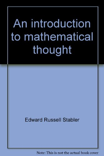 An introduction to mathematical thought