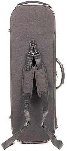 Bam Stylus 5001S 4/4 Violin Case with Black Exterior and Silver Interior by Bam France (Image #3)