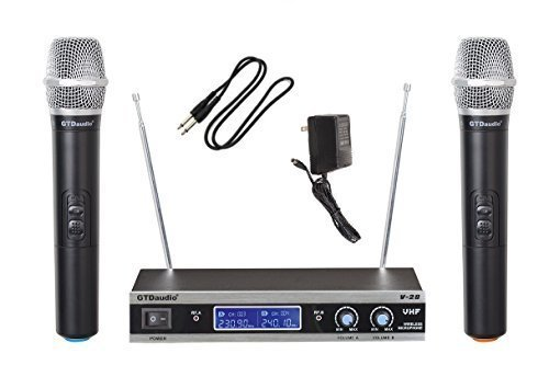 Wireless Microphone System with 2 Hand held mics ()