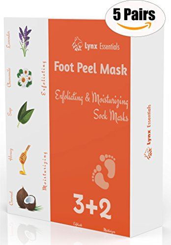 Foot Peeling Mask Booties - Feet Mask - Exfoliating & Moisturizing