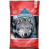 Blue Buffalo Wilderness Grain Free Dry Dog Food, Salmon Recipe, 11-Pound Bag, My Pet Supplies