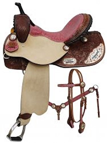 Western Roping Saddle Set - 7